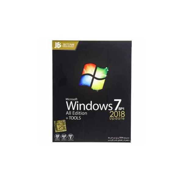 سیستم عامل ویندوز JB TEAM 7 آپدیت 2019