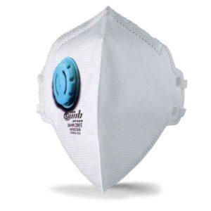ماسک فیلتردار 5 لایه به همراه یک فیلتر کربن دار
