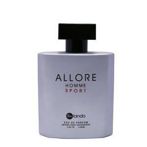 ادکلن مردانه بای لندو مدل Allore Homme Sport حجم ۱۰۰میلی لیتر