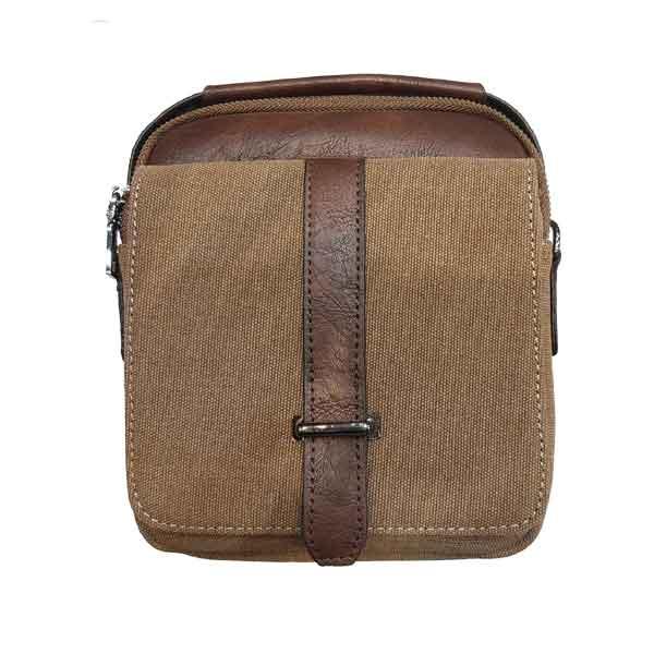 کیف دوشی زنانه کتان اراز مدل 246