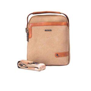 کیف دوشی زنانه کتان اراز