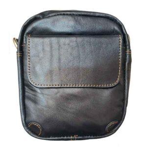 کیف هیکلی چرم زنانه دورگرد ( چرم مصنوعی )