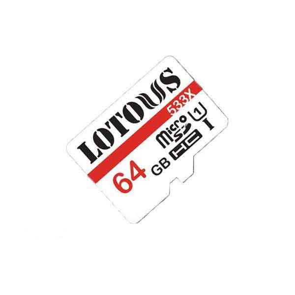 کارت حافظه MicroSDHC لوتوس ظرفیت 64 گیگابایت