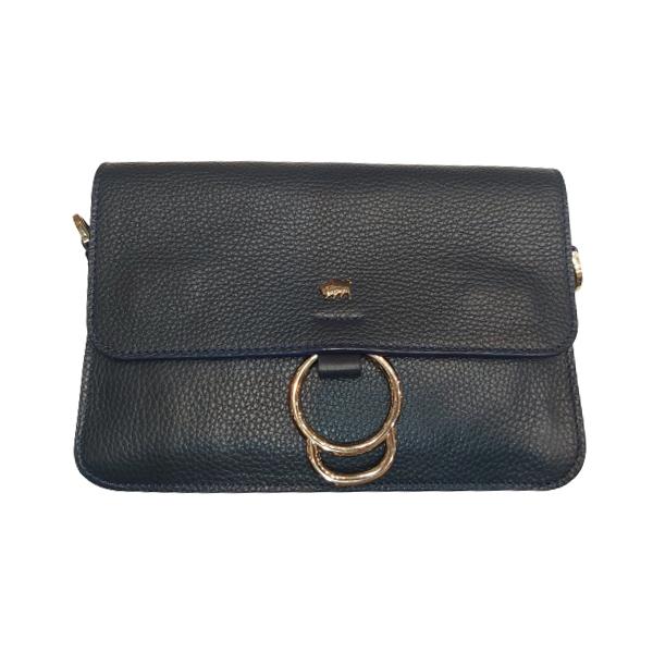 کیف زنانه چرم بوفالو سیاه مدل 2237