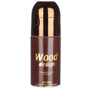 رول ضد تعریق مردانه اسکلاره مدل Wood Design میلی لیتر 60